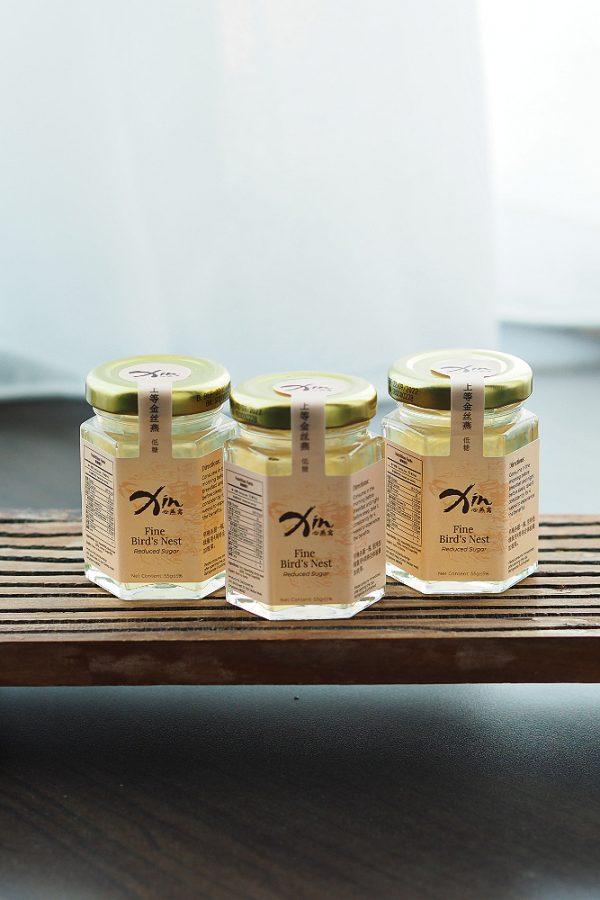 Xin 3 Bottles Fine Bird's Nest Instant Drink